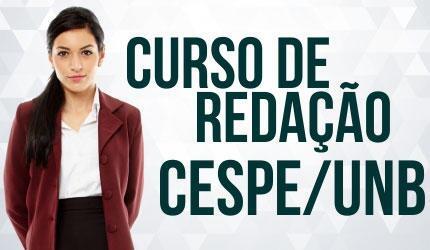 Curso de Redação voltado para CESPE/UnB