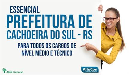 Prefeitura de Cachoeira do Sul - RS - Essencial