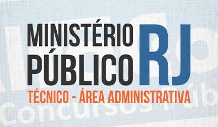 Técnico - Área Administrativa do MP RJ