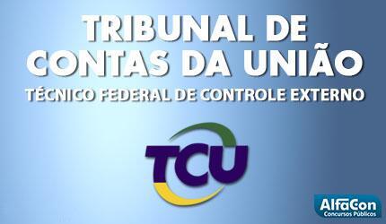 Técnico Federal de Controle Externo - TCU