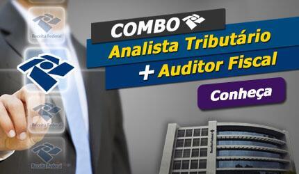 Combo Analista Tributário + Auditor Fiscal da Receita Federal