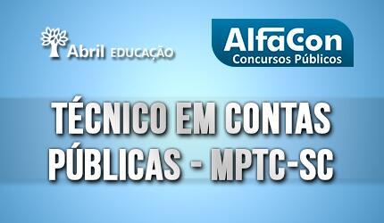 Técnico em Contas Públicas - MPTC - SC