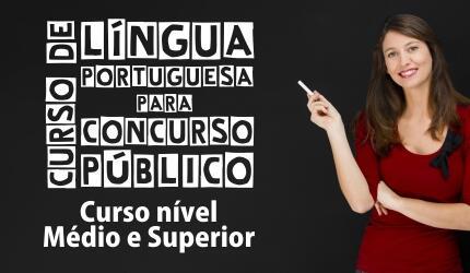 Curso de Língua Portuguesa para Concursos