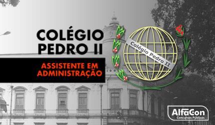 Assistente em Administração - Ministério da Educação Colégio Pedro II
