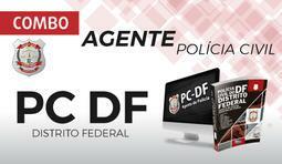 Combo Agente de Polícia Civil do Distrito Federal - PC DF