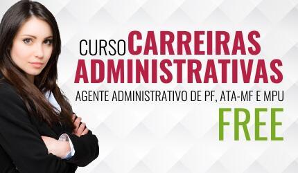 Curso - Carreiras Administrativas FREE