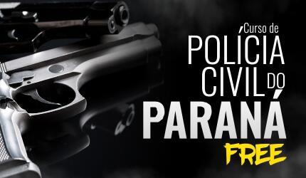 PC PR - Polícia Civil do Paraná - Gratuito
