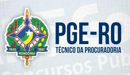 Técnico da Procuradoria Geral do Estado de Rondônia - PGE-RO