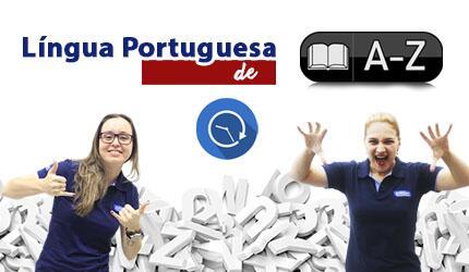 Curso de Língua Portuguesa de A - Z