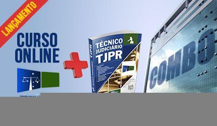 Supercombo Técnico Judiciário do Paraná - TJ PR