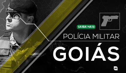 PM GO - Soldado da Polícia Militar de Goiás