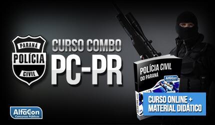 Combo Polícia Civil do Paraná - PC PR