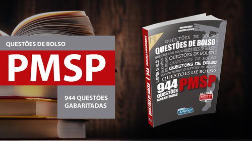 Questões de Bolso - Polícia Militar-SP (944 Questões Gabaritadas)