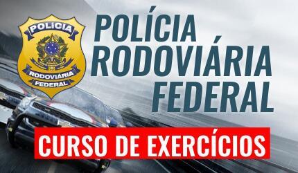 Curso de Exercícios para Polícia Rodoviária Federal - PRF