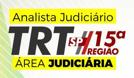 Analista area judiciaria trt15 stream %281%29