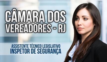Assistente Técnico Legislativo da Câmara dos Vereadores - RJ - Inspetor de Segurança
