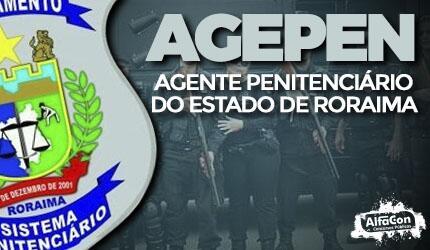 Agente Penitenciário do Estado de Roraima - AGEPEN RR