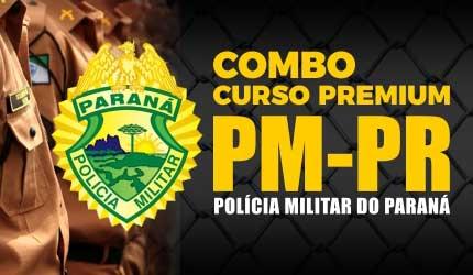 Combo Polícia Militar do Paraná - PREMIUM