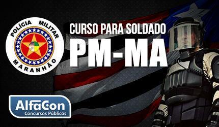 PM MA - Soldado de Polícia Militar do Maranhão