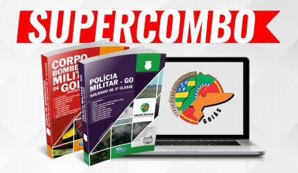 SUPERCOMBO PM + BOMBEIRO GOIÁS