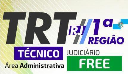 Curso TRT RJ - 1º Região - FREE