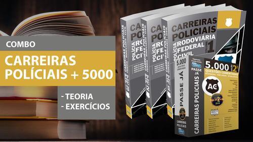 Carreiras Policiais + Passe Já - Carreiras Policiais 5.000 Questões Comentadas 2ª Ed.