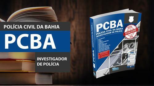 Investigador de Polícia - Polícia Civil da Bahia - PCBA