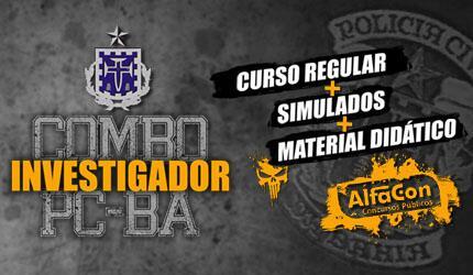 Combo Investigador de Polícia Civil da Bahia - PC BA
