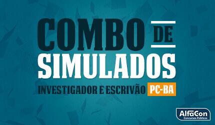 Simulados Investigador de Polícia Civil da Bahia - PC BA