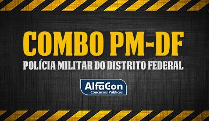 Combo Soldado de Polícia Militar do Distrito Federal - PM DF
