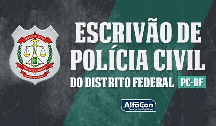 PC DF - Escrivão de Polícia Civil do Distrito Federal