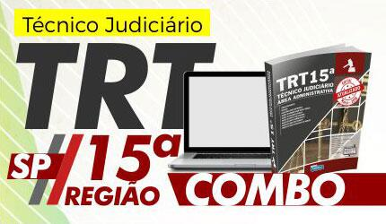 Combo TRT SP (15ª Região) - Técnico Judiciário - Área Administrativa