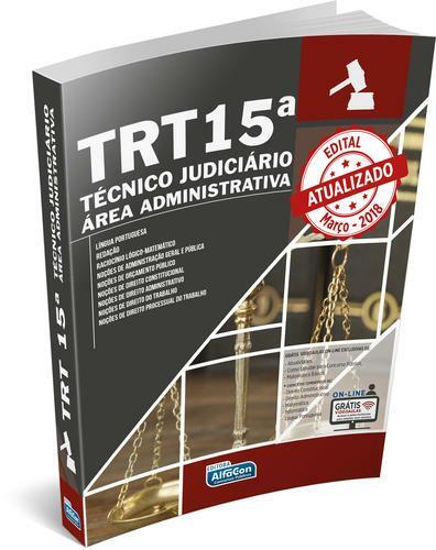 Técnico Judiciário - Área Administrativa TRT - 15ª Região