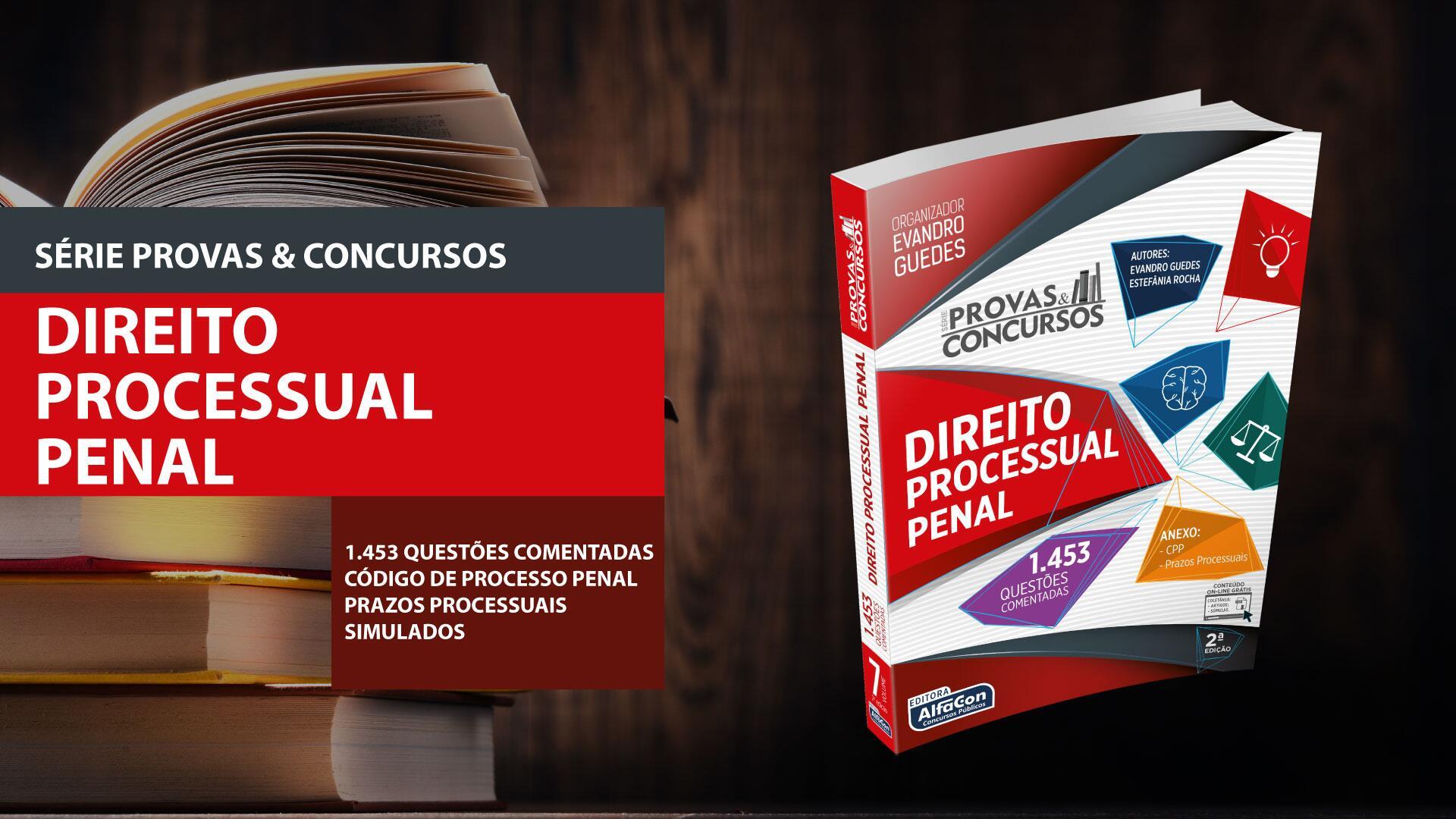 Serie provas e concursos direito processual penal