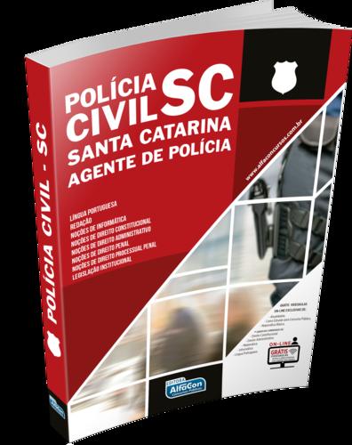 Agente de Polícia Civil do Estado de Santa Catarina - PCSC