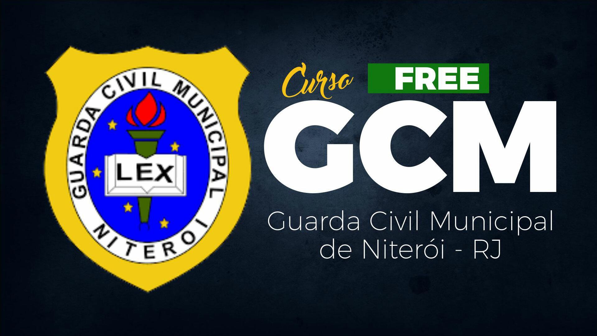Guarda Civil Municipal de Niterói - RJ - GRATUITO