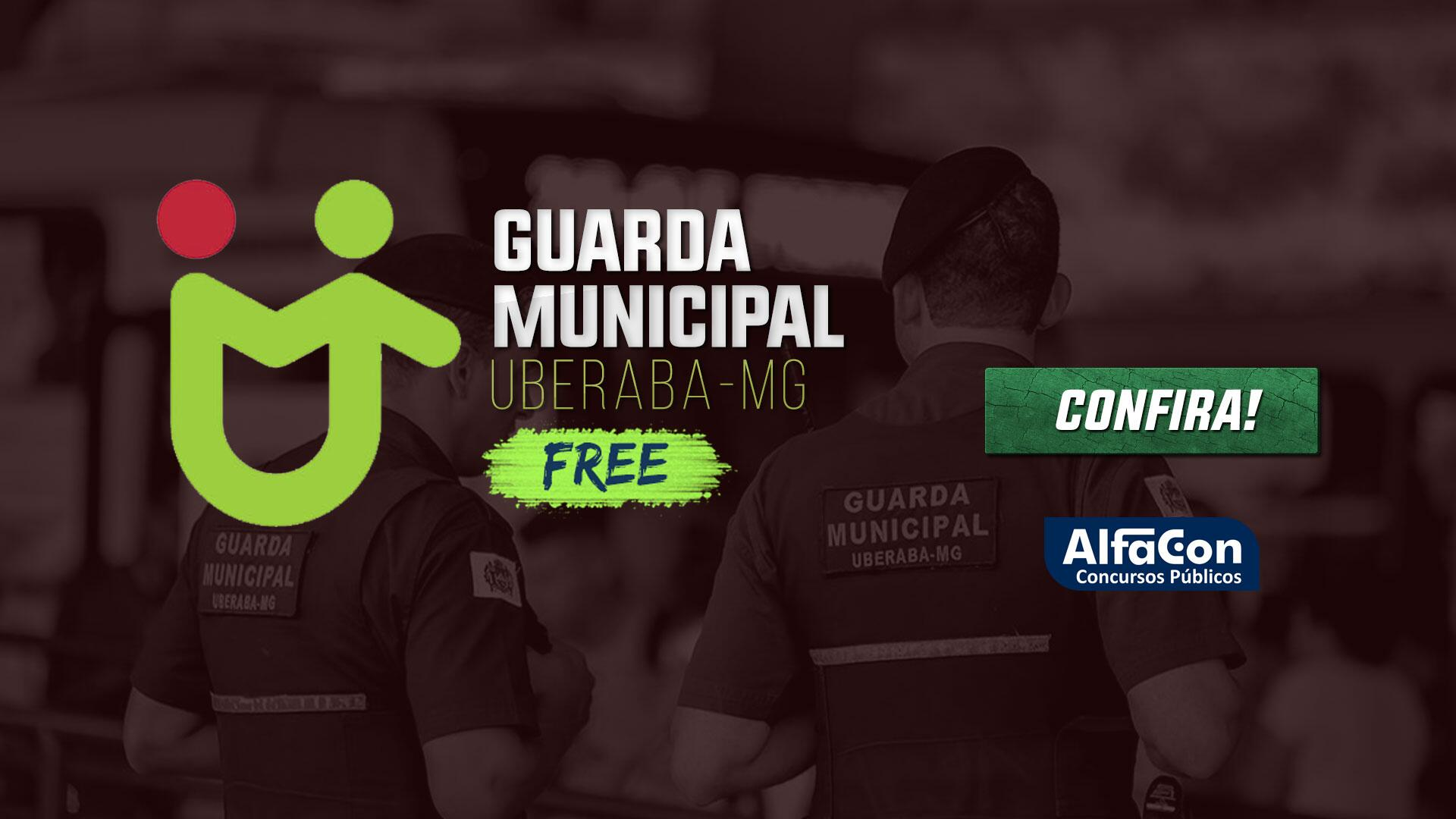 Guarda Municipal de Uberaba - MG - GRATUITO