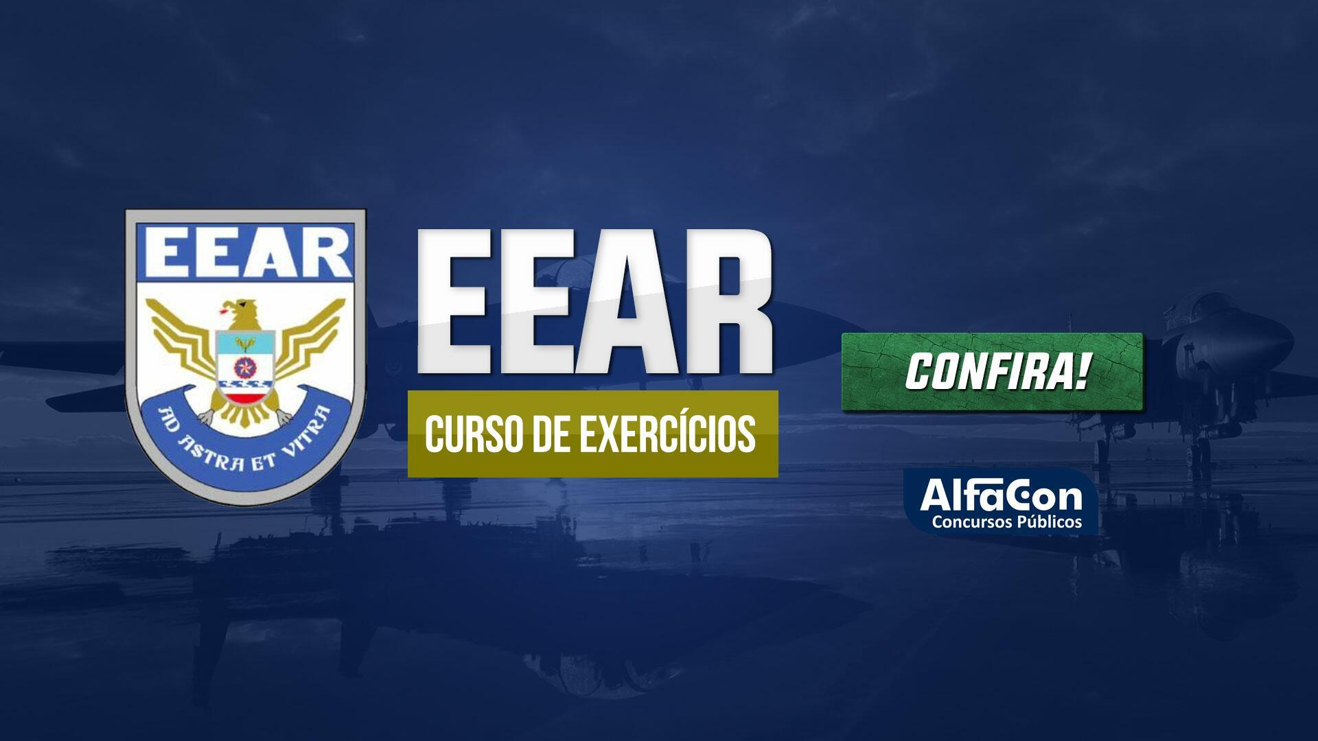 Curso de Exercícios Preparatório para EEAR (Escola de Especialistas de Aeronáutica)