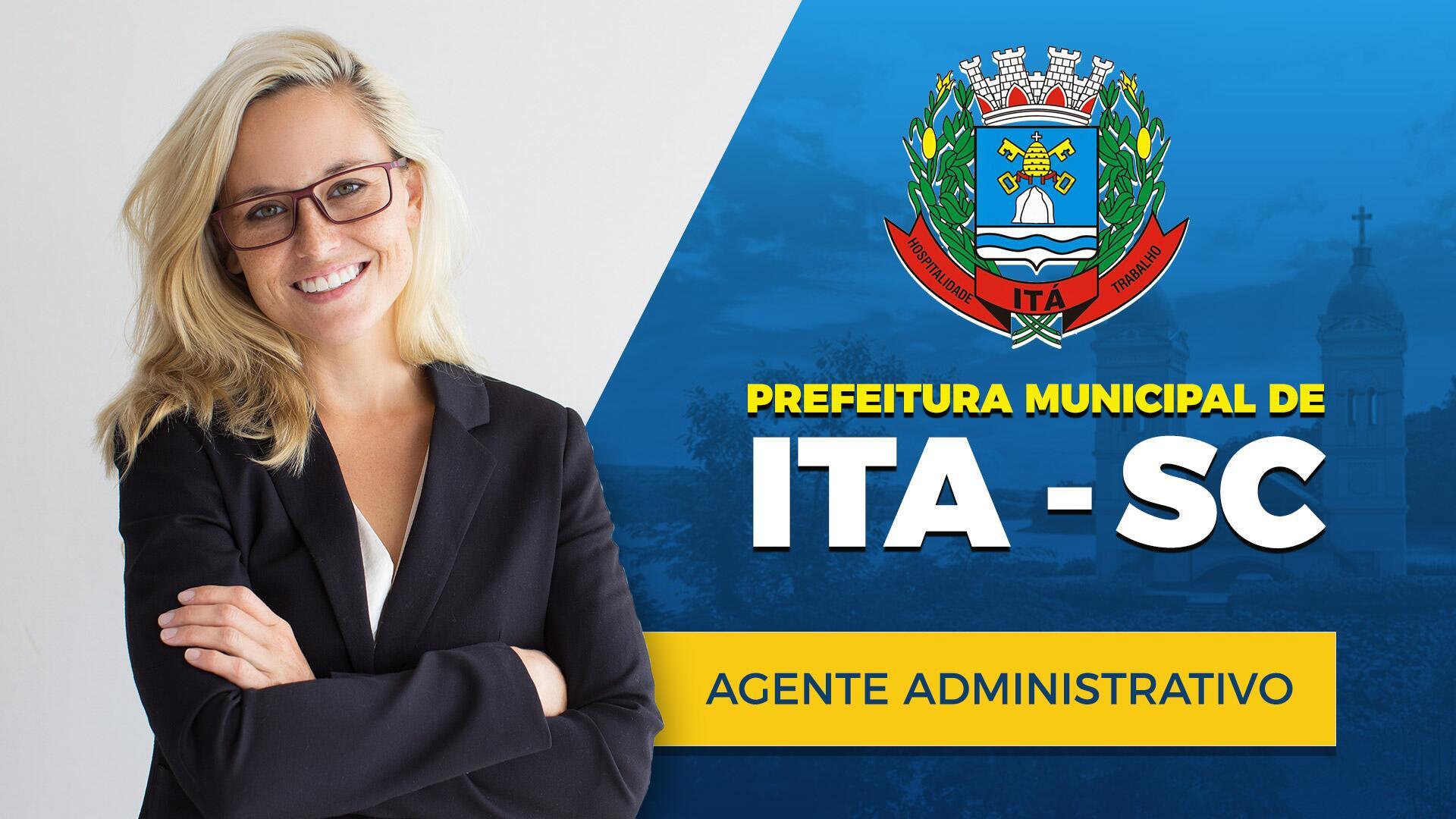 Agente Administrativo da Prefeitura Municipal de Ita - SC