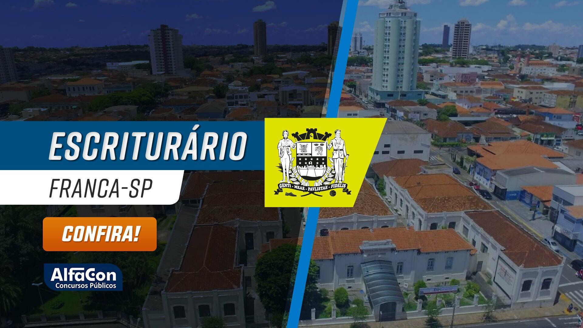 Escrituário da Prefeitura Municipal de Franca - SP