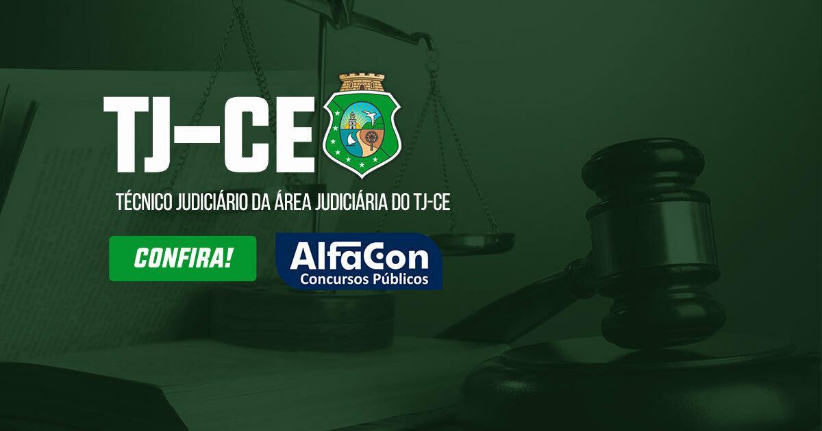 Técnico Judiciário da Área Judiciária do Tribunal de Justiça do Ceará TJ CE