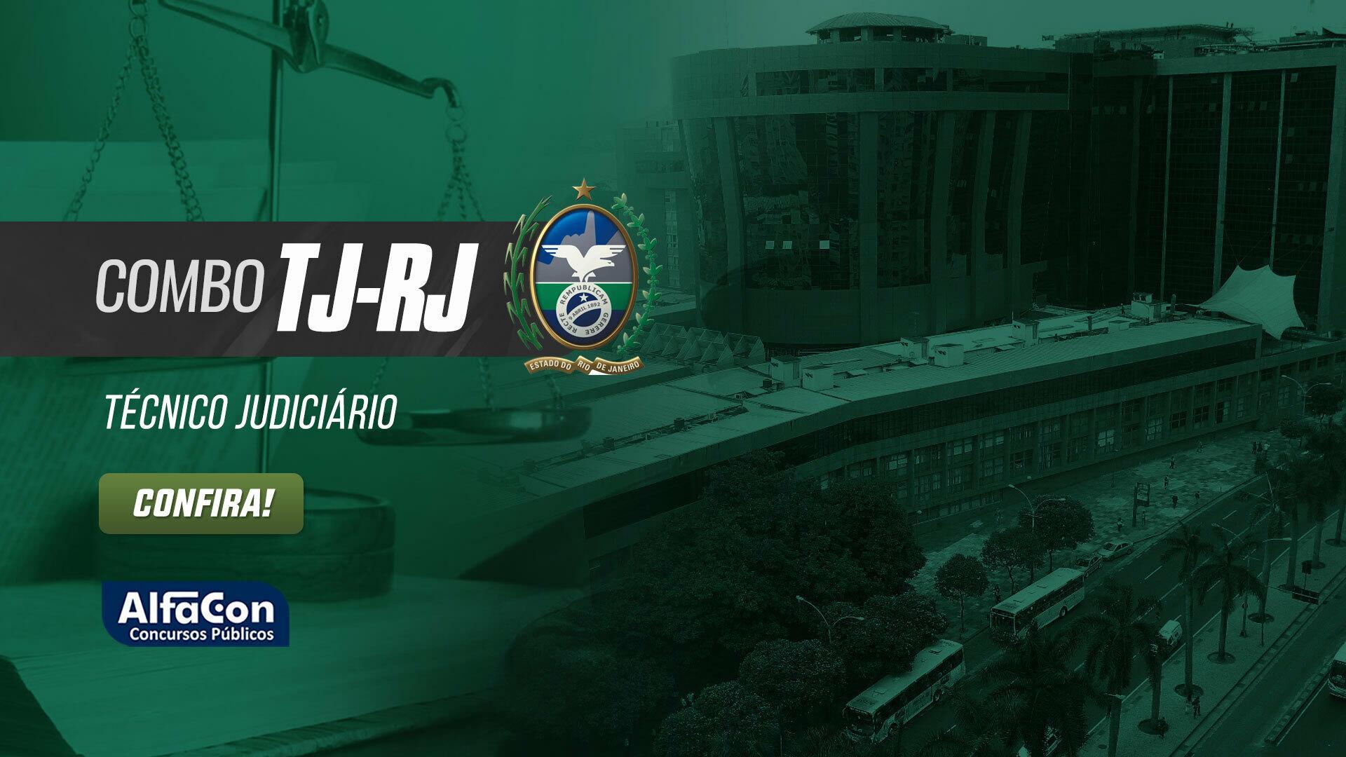 TJRJ Combo - Técnico Judiciário do Tribunal de Justiça do Rio de Janeiro