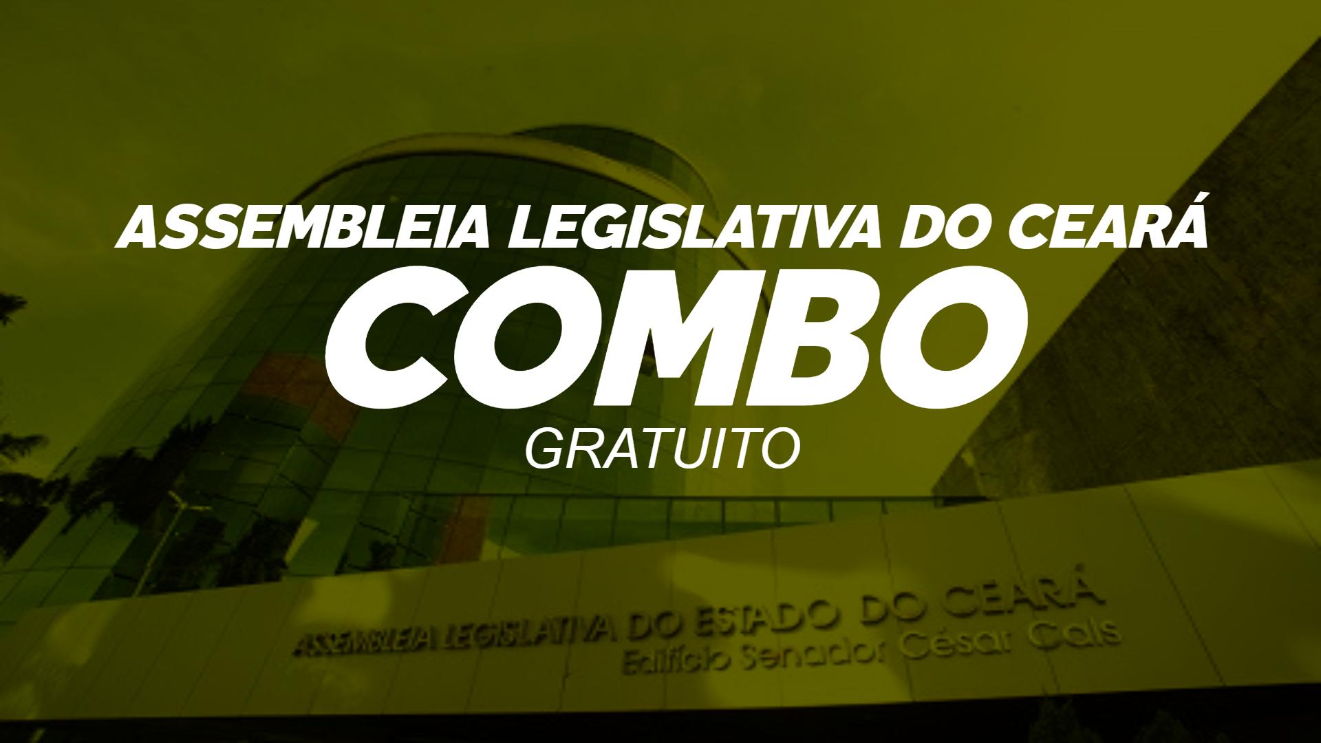 Combo ALCE - Assembleia Legislativa do Ceará - GRATUITO