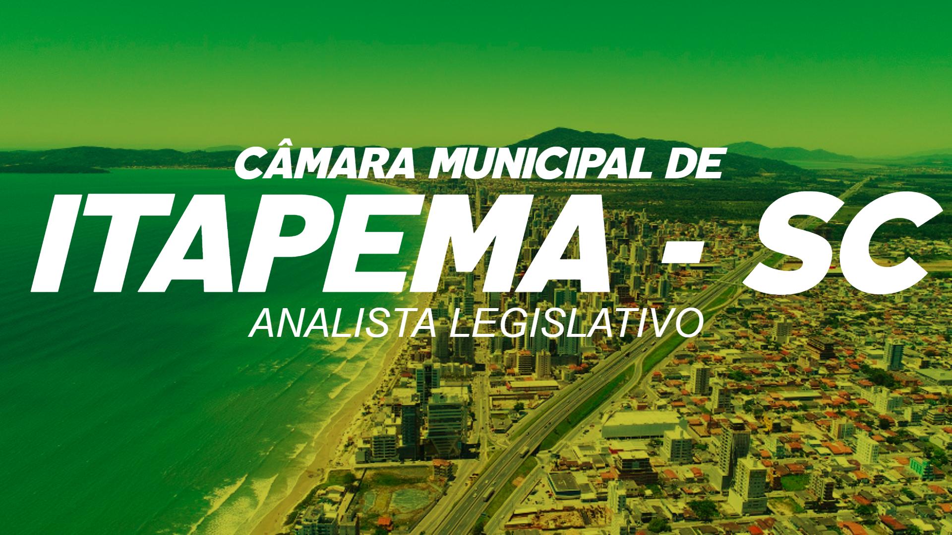 Câmara Municipal de Itapema - SC - Analista Legislativo