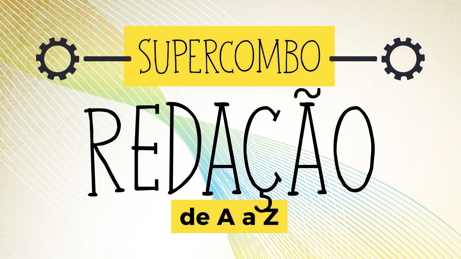 Supercombo - Curso de Redação de A a Z