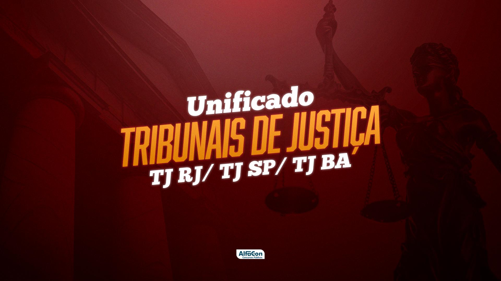 Unificado - Tribunais de Justiça