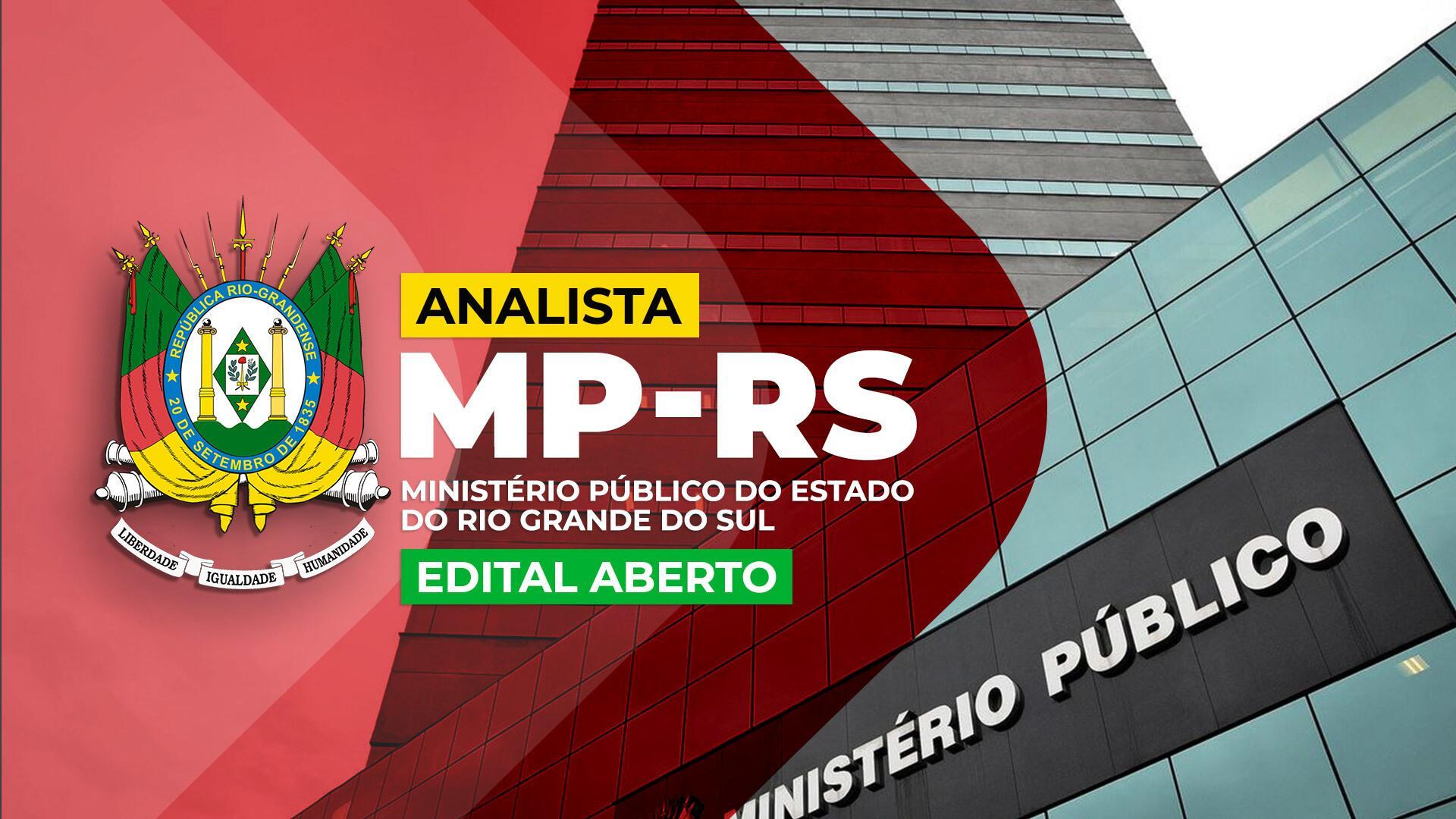 MP RS - Analista do Ministério Público do Rio Grande do Sul