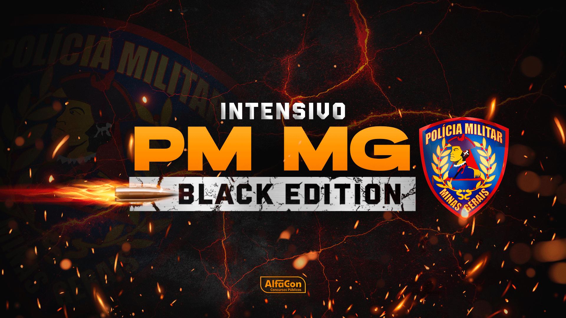 PM MG - Black Edition - Soldado da Polícia Militar de Minas Gerais